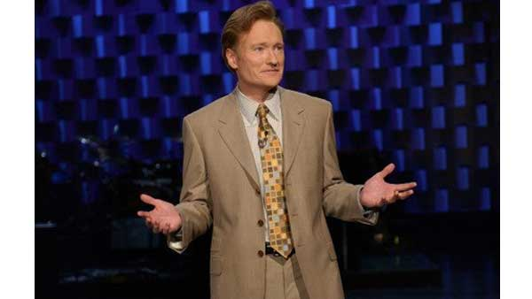 "<div class=""meta ""><span class=""caption-text "">Late Night / Talk Syndication Category: When Conan O'Brien  hosts  'The Conan O'Brien Show'  on TBS, he'll earn $10 million per year, according to TVGuide.com. (Photo courtesy of NBC Universal Television)</span></div>"